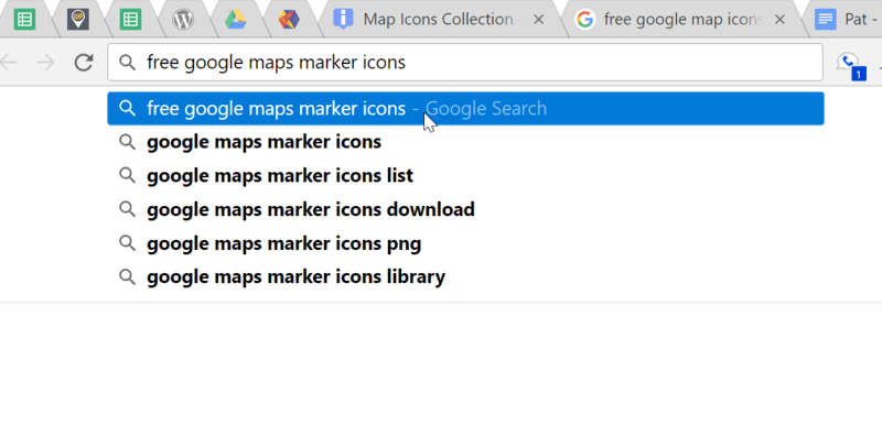 finding custom marker icons wp google maps