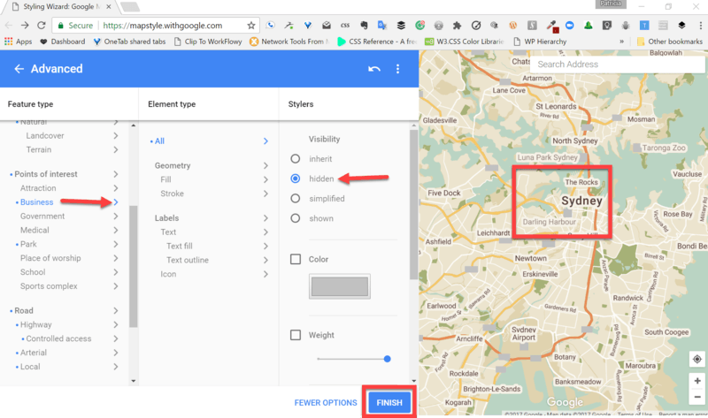 Creating a Custom Theme for Your Map | WP Google Maps