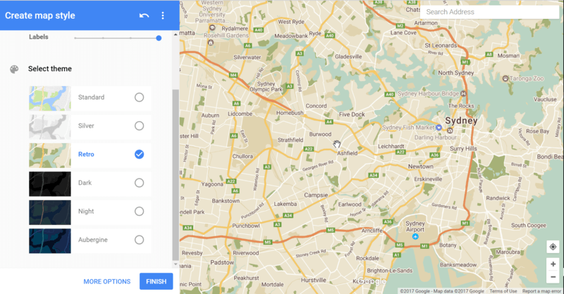 Creating A Custom Theme For Your Map WP Google Maps - Style a google map
