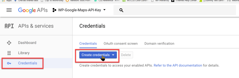 Creating a Google Maps API Key | WP Google Maps
