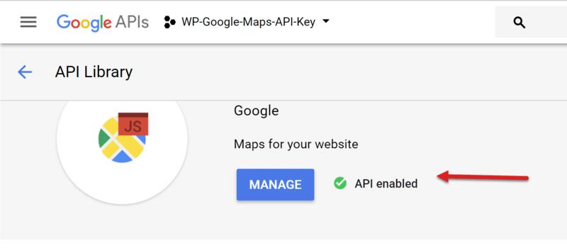 Google maps api key free