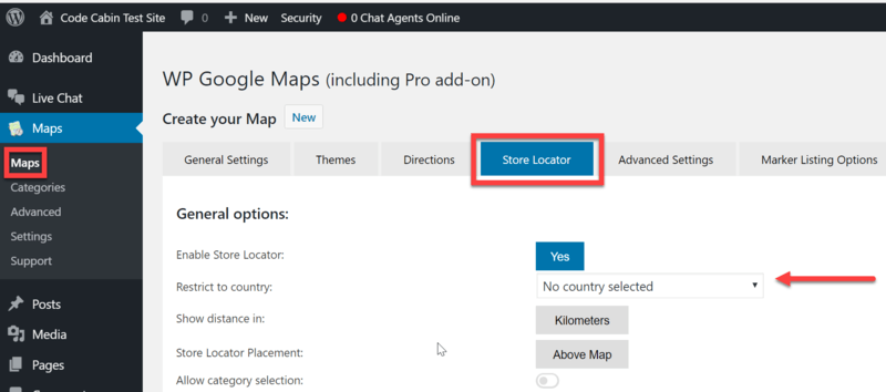 Restrict Autocomplete to a Specific Country | WP Google Maps