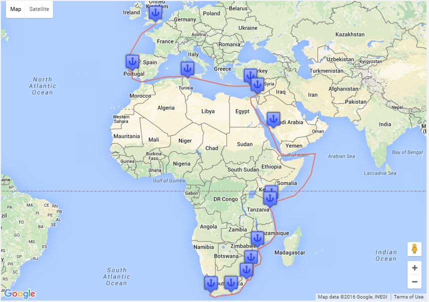 Solutions By Industry Travel Map WP Google Maps - Make a trip map