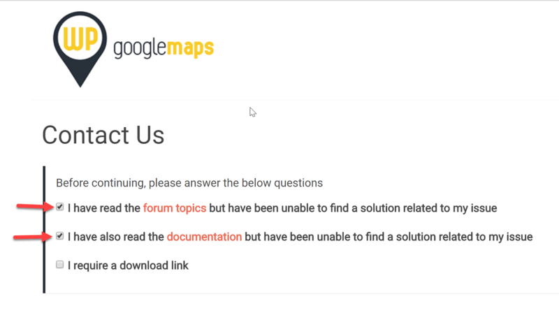 I did not receive my invoice WP Google Maps