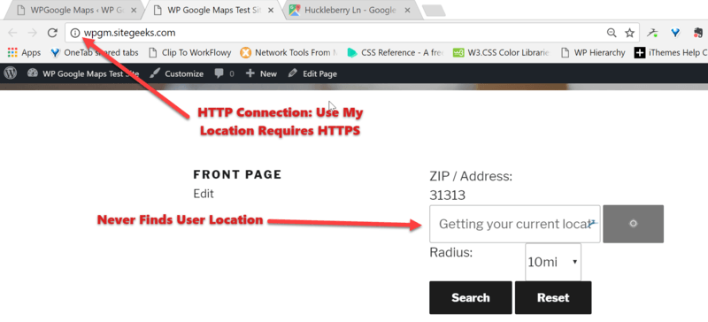 Use My Location Requires HTTPS (In Chrome) | WP Google Maps Google Maps Use My Location on google maps home, google maps las vegas, google maps traffic, google maps compass mode, google maps new orleans, google maps layers, google maps miami, google maps twin falls, google maps search, google maps settings, google maps weather, google maps satellite view, google maps navigation, google maps mobile,